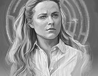 Westworld Portraits (Commission)