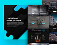 Landing page Urban Property