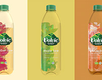 Volvic | Ice tea packaging