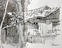Urban Sketchers - Casas