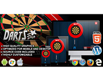 HTML5 Game: Darts Pro