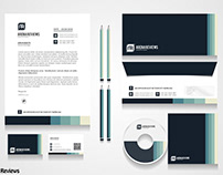 Creative Modern Office Stationery Design Templates