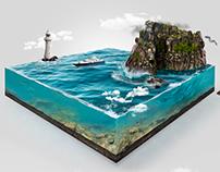 CG Diorama - Bay