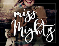Miss Mighty Font