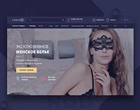 Редизайн интернет-магазина белья/Redesign online store