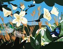 Botanical Sydney Wall Mural