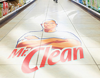 Mr. Clean In-Store Floor Decal