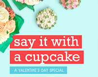 CBS: Say it with a Cupcake (Valentine's Catalog 2017)