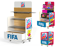 FIFA - Futsal World Cup - Mobile Kiosk