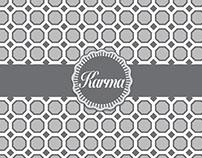 KARMA's menu