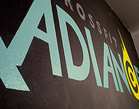 Crossfit Radiance Gym Wall Painting