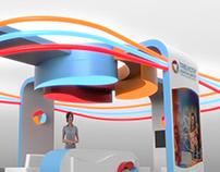 Trevicta exhibition stand design & 3D CGI