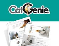 CatGenie - Landing page