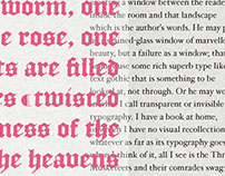In Love with Type