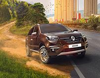 Renault Series: Koleos, Megane RS & Logan