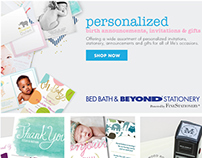 Landing Page & Homepage Billboard | Bed Bath & Beyond