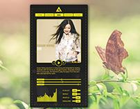 [UI Design] AIMP skin concept design