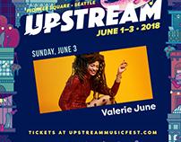 Upstream Music Festival Animation