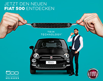 gifs and postings for fiat // social media