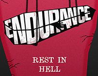 Poster para el último concierto de Endurance