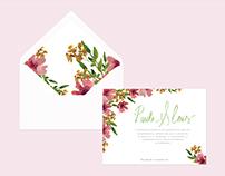 Diseño Invitaciones de boda