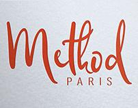 création logo pour prêt à porter vêtement, method Paris