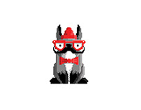 Perros Pixel