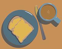 Tea and Toast or Tea and Cake