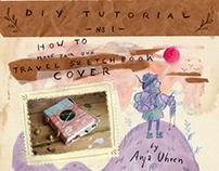 travel sketchbook tutorial
