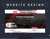 Proovia Logistics Website Design