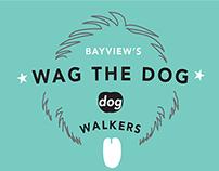 *Wag The Dog* Dog Walkers Branding
