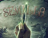 """Poster """"Semilla Studio"""""""