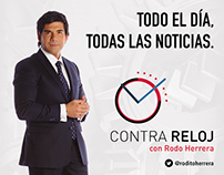 """Gacetilla lanzamiento """"Contra Reloj"""" Rodo Herrera"""
