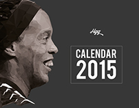 Calendar 2015 - Low Poly_Sports