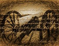 Gettysburg Cannon with Gettysburg Address