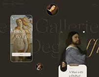 Museum App Uffizi Redesign Concept UX/UI
