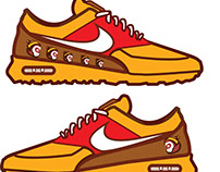Chinese Monkey Year Shoes