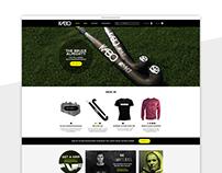 KaBo Hockey - UX Website Design