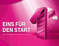 Paper Art for Telekom campaign
