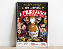 Fête du village de Muriaux 2019 - Affiche