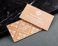 Logo and card // Eleonora Poppius