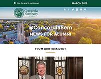 @ConcordiaSem alumni email news 2017