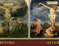 Before & After Restoration