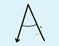 "#36DaysOfType - ""A"" Animated"