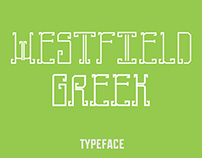 TypeFace | Westfield Greek