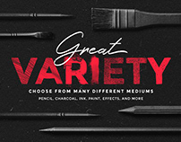 Procreate Brushes Bundle by MiksKS