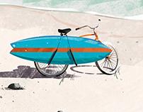 Beach project | illustration set |