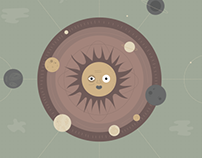 Heliocentric Illustration