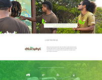 Chlorophyl - GREEN CORPORATE WEBDESIGN