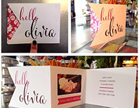Stationery Designs for The Pleasure of Your Company